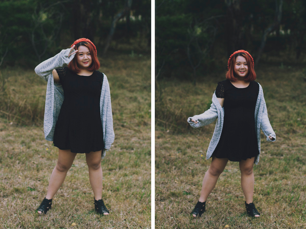 Winter Outfit by Stella from Oh My Stellar with ulzzang inspired make up