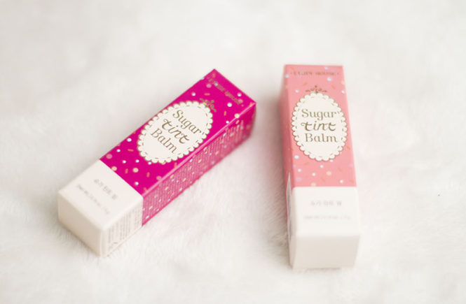 Etude House Sugar Tint Balm Makeup Cosmetics Kbeauty Review RoseRoseShop