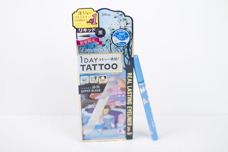 K Palette 1 Day Tattoo Alice in Wonderland Alphabeauty Japanese Beauty Review