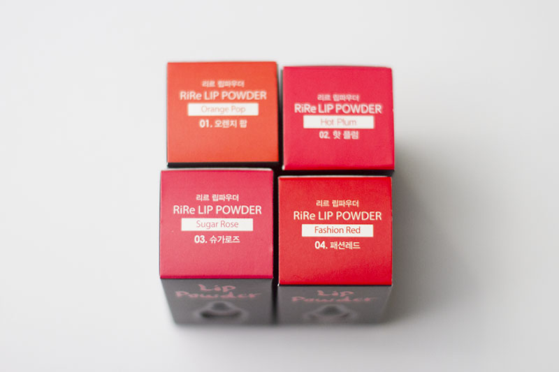 Rire Lip Powder Tint Kbeauty Review
