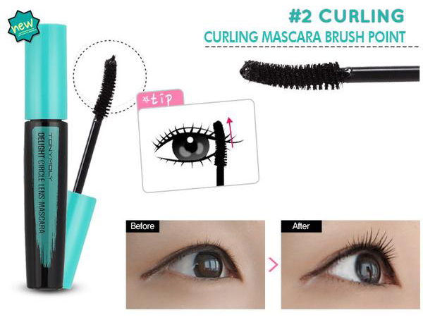 Tonymoly Delight Circle Lens Mascara KollectionK Kbeauty Review