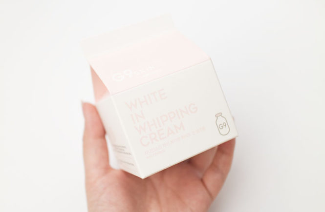 G9 Skin Berrisom White in Whipping Cream Review BB Cosmetic