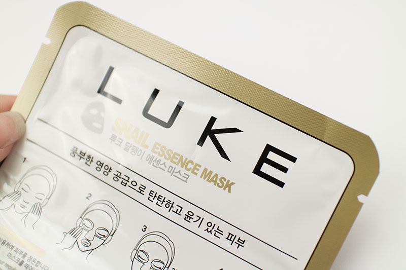 Skin18 Luke Snail Essence Mask Review