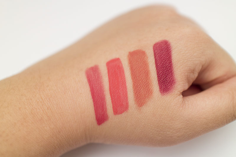 3CE Stylenanda Liquid Lip Color Review Be Dashed Lazy Low Down Charmed