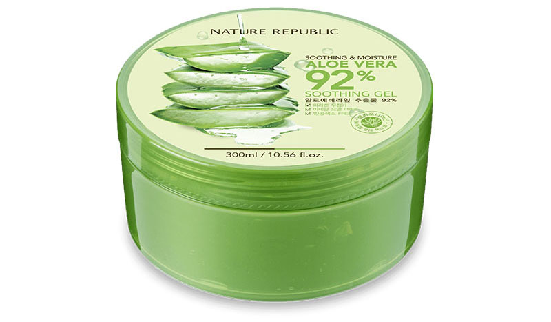 Top 10 Skincare Products 2016 Review List Nature Republic Aloe Vera Soothing Gel