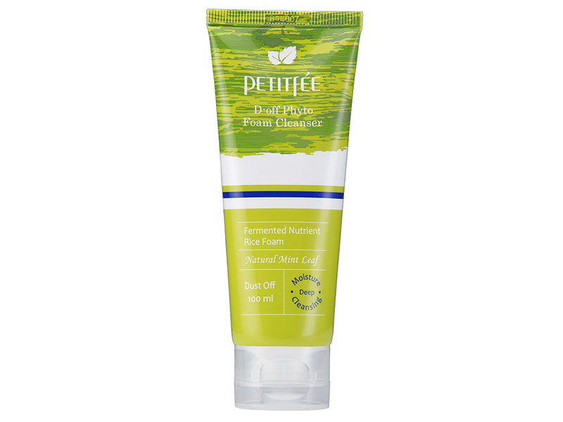 Top 10 Skincare Products 2016 Review List Petitfee D'Off Phyto Foam Cleanser