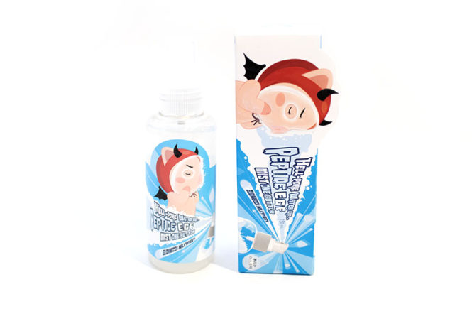 Elizavecca Hell Pore Water Up Petide EGF Mist One Button Review Kbeauty