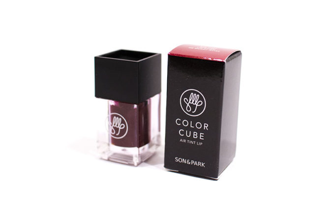 Son and Park Color Cube Air Tint Lip 05 Berry Rose BB Cosmetic