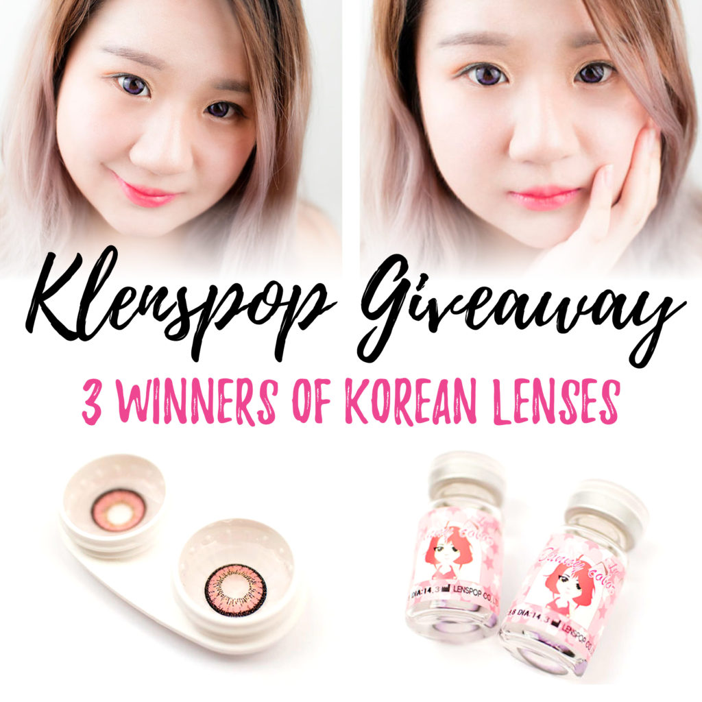 Klenspop Korean Circle Lenses Giveaway