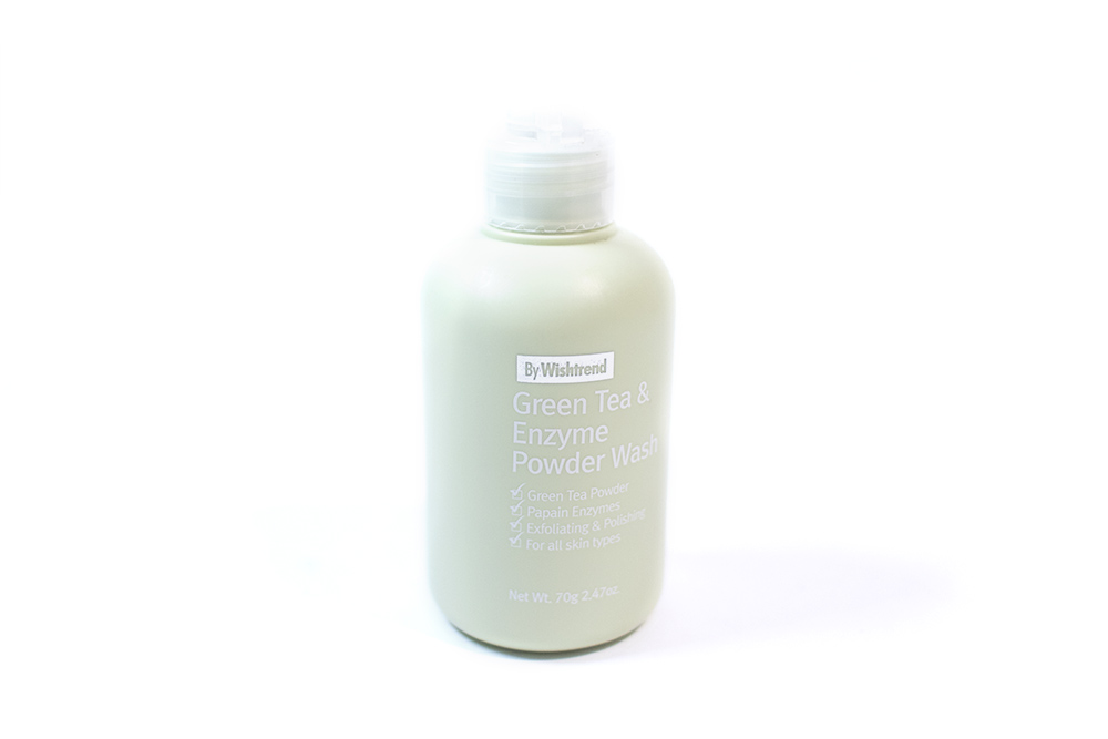 By Wishtrend Green Tea and Enzyme Powder Wash Wishtrend Kbeauty Review