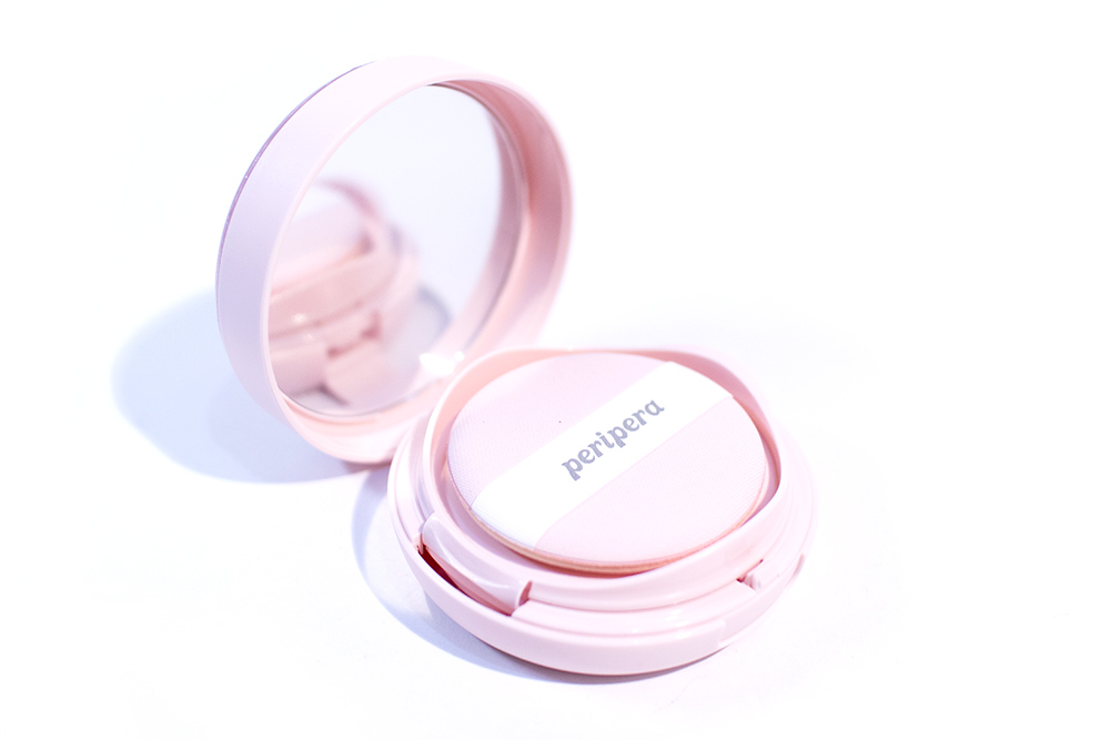 Peripera Pearly Night Ink Lasting Pink Cushion Kbeauty Review
