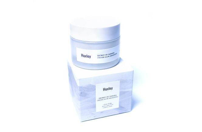 Huxley Glow Awakening Cream kbeauty stylekorean review