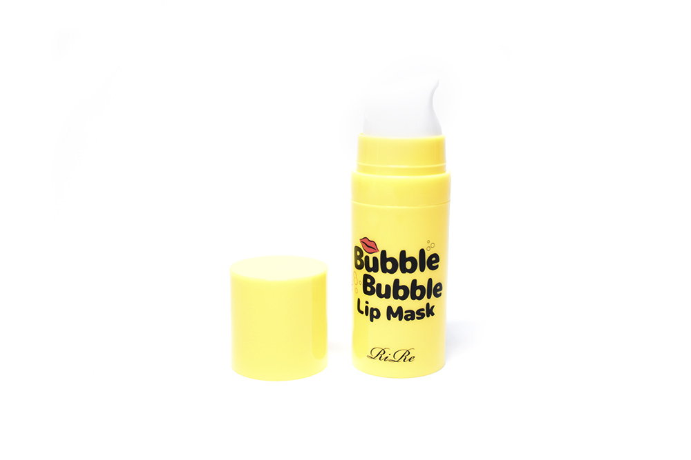 Rire Bubble Bubble Lip Mask BB Cosmetic Kbeauty Review