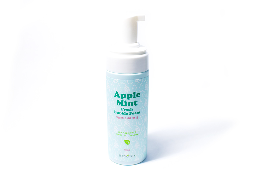 Beyond Apple Mint Fresh Bubble Foam BB Cosmetic Kbeauty Review