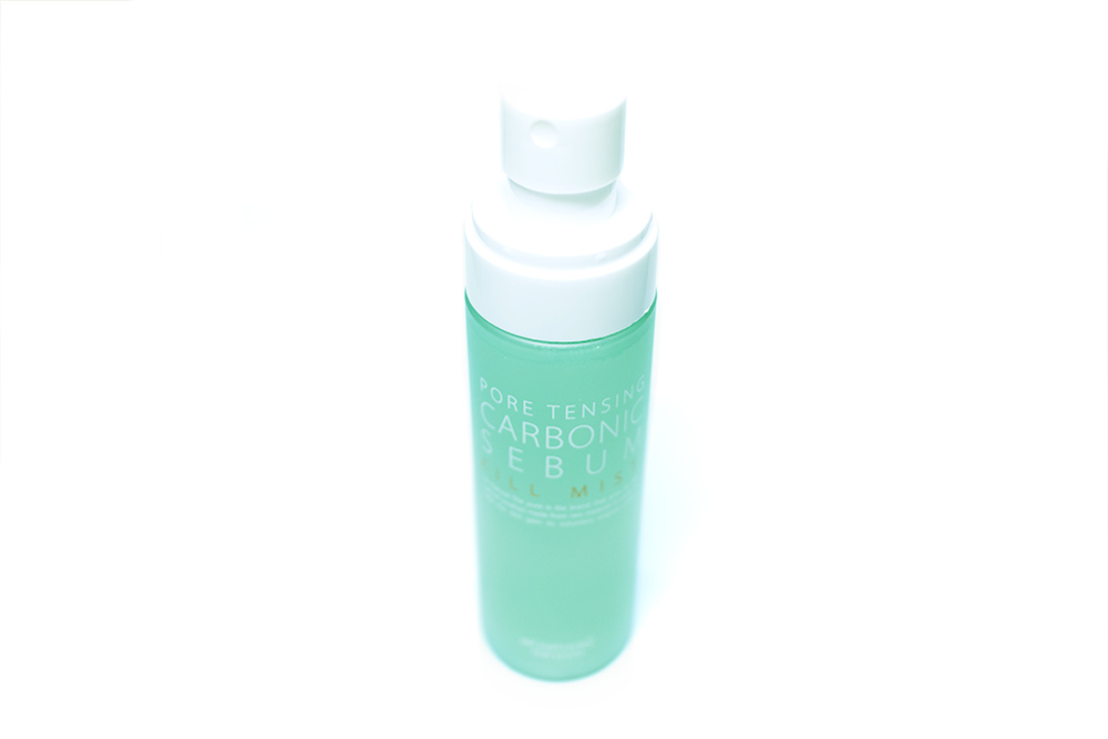 StyleKorean So Natural Pore Tensing Carbonic Sebum Kill Mist KBeauty Review