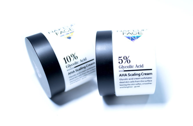 StyleKorean Nakeup Face 10& 5% Glycolic Acid AHA Scaling Cream KBeauty Review
