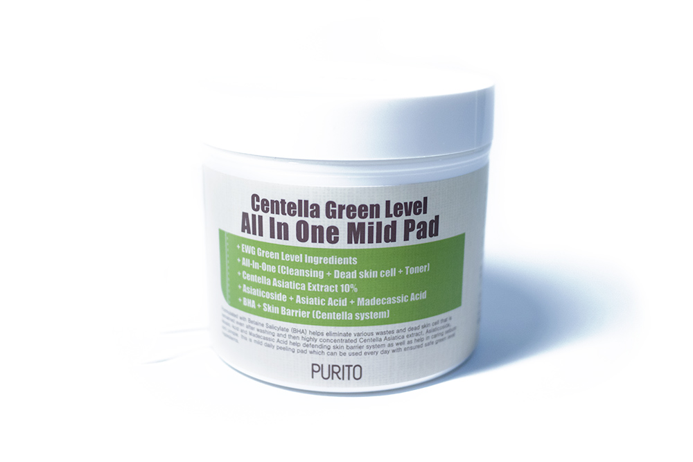 Purito Kbeauty Skincare Review Centella Green Level All in One Mild Pad
