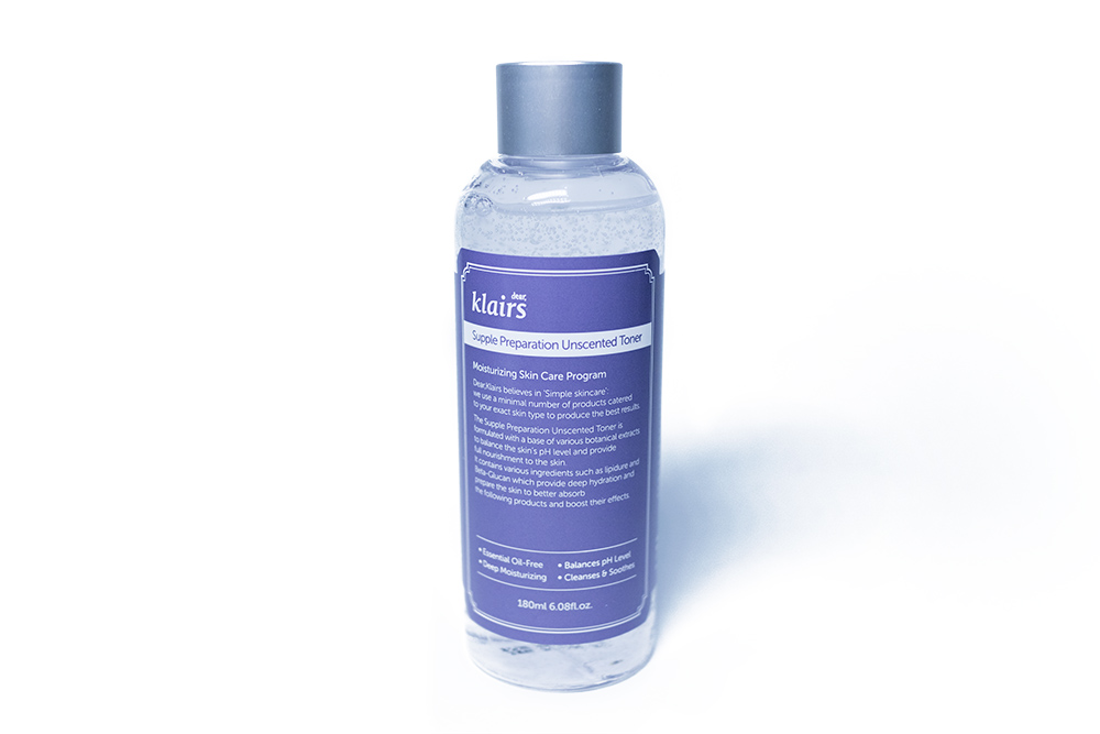 Wishtrend Klairs Supple Preparation Unscented Toner Kbeauty Review