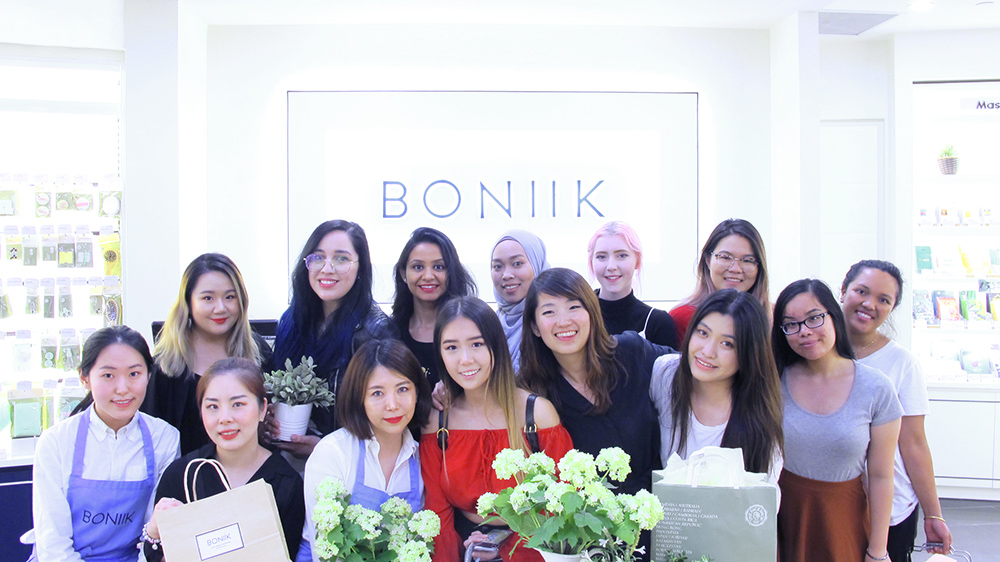 Event Boniik Sydney The Face Shop Kbeauty Blogger Ambassador Night