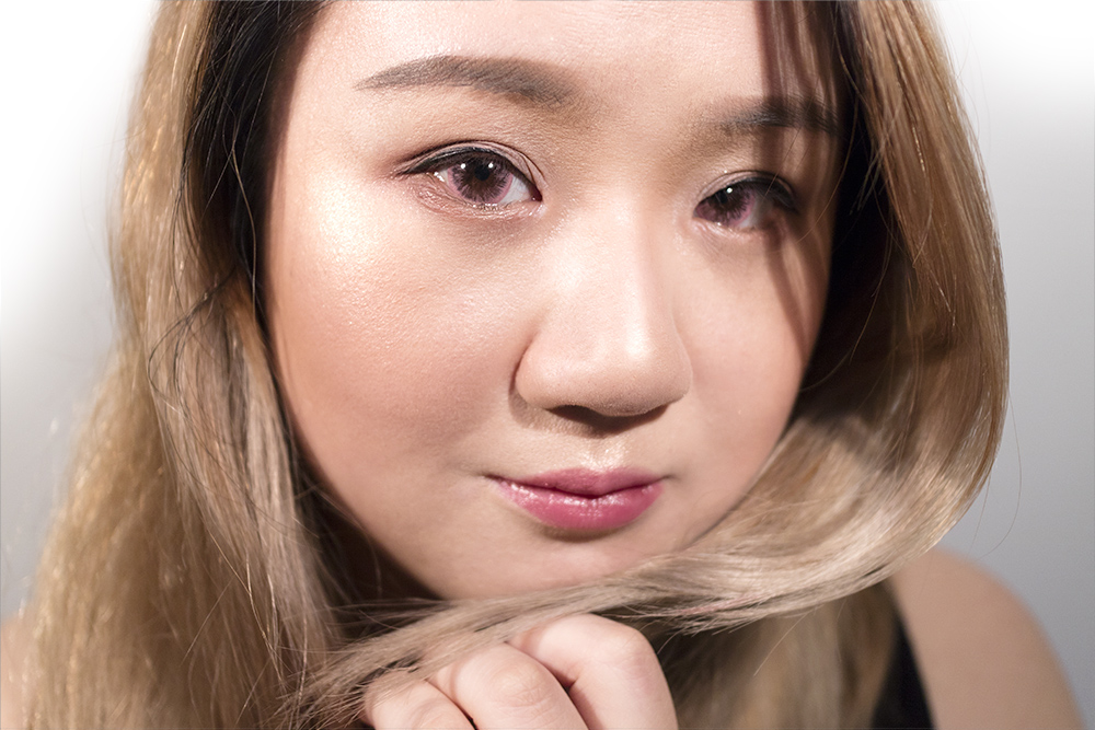Uniqso Circle Contact Lens Review Dolly Eye Ice Melon Pink