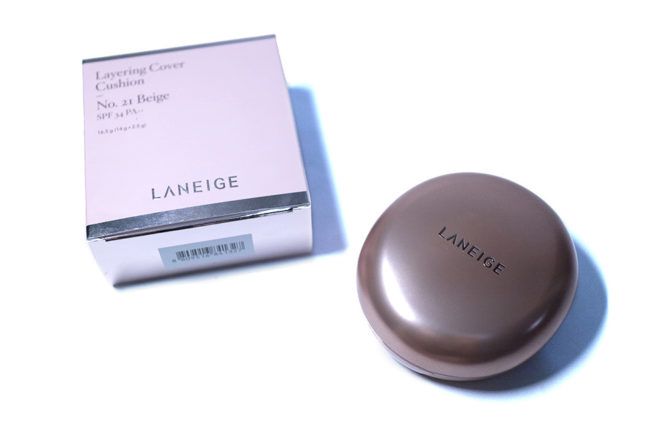 Laneige Layering Cover Cushion Kbeauty StyleKorean Review