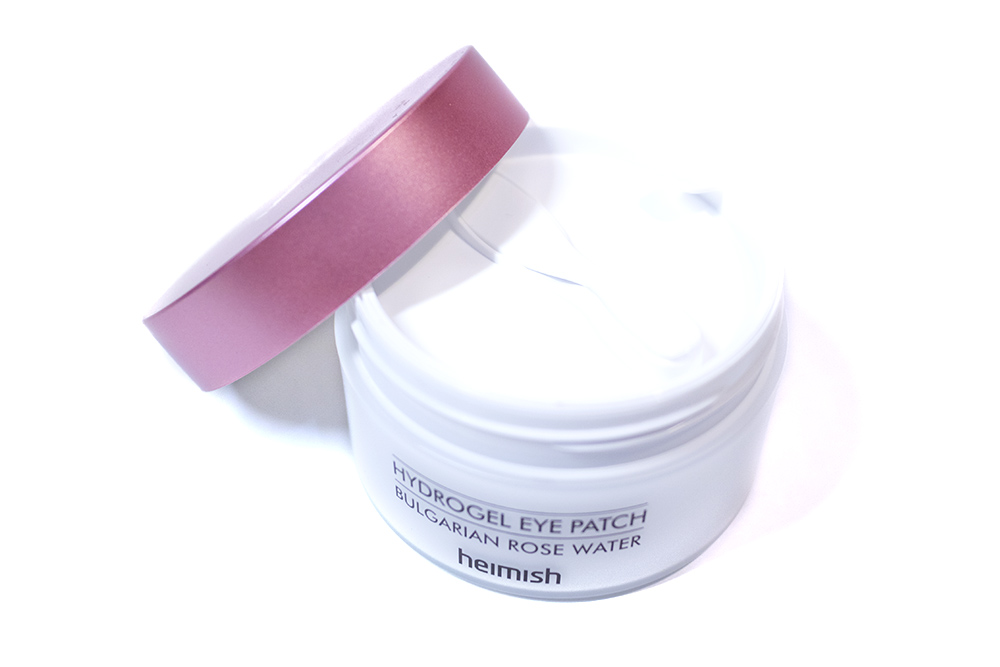 Hydrogel Eye Patch Bulgarian Rose Water Heimish Kbeauty Review