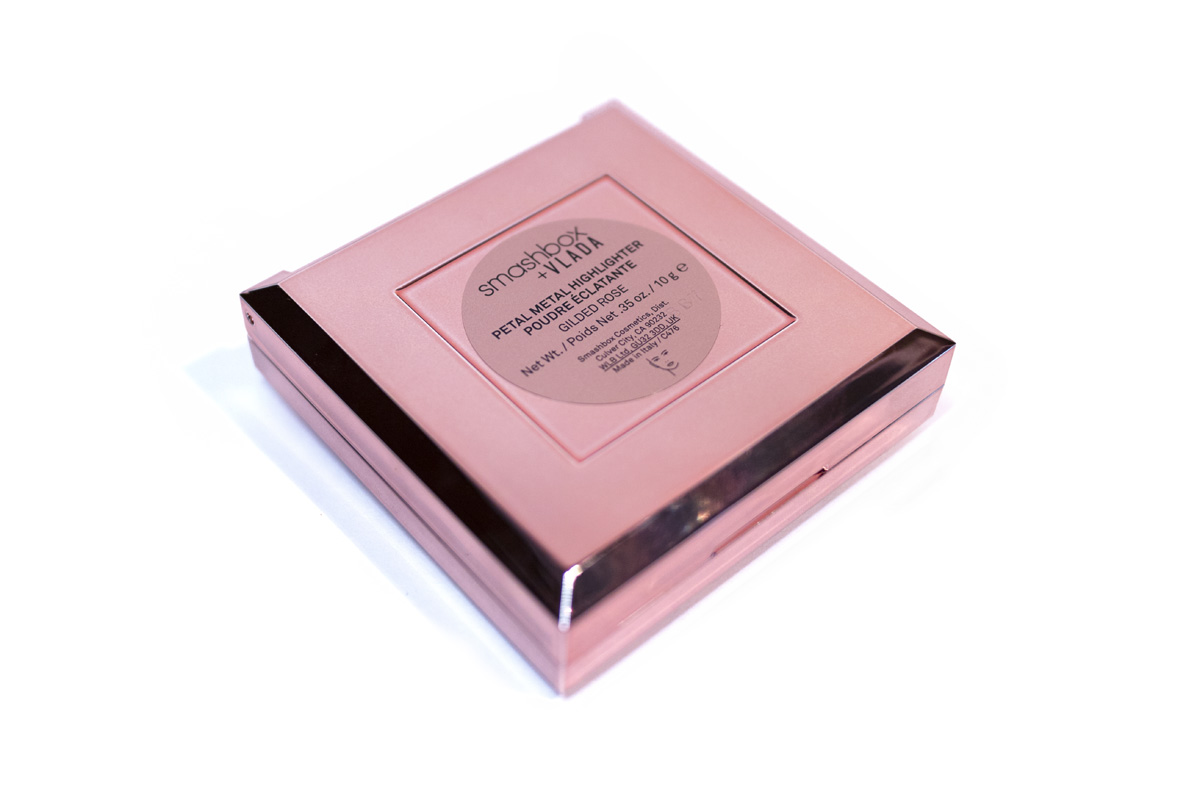 Smashbox Vlada Collaboration Highlighter Eyeshadow Palette Covershot Beauty Review Rose Gold