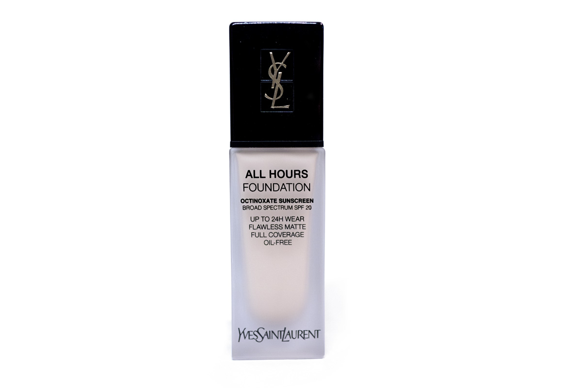 Yves Saint Laurent YSL All Hours Foundation Beauty Review