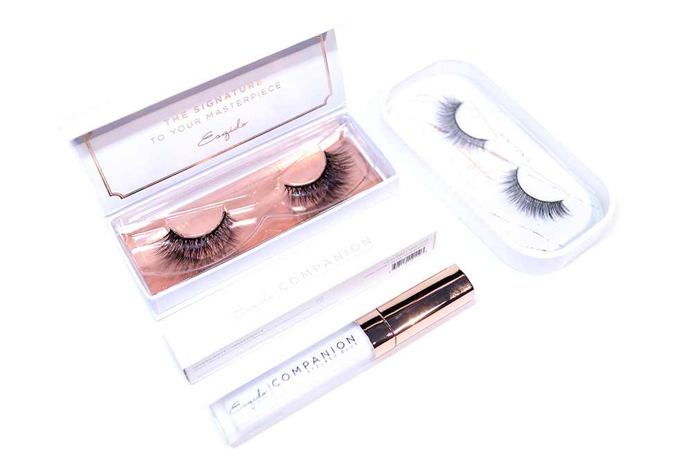 Esqido False Lashes Lash Glue Review Mystic Gin and Tonic