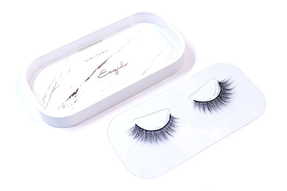 Esqido False Lashes Lash Glue Review Gin and Tonic