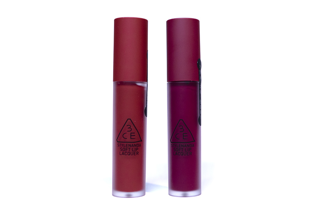 StyleKorean Stylenanda 3CE Soft Lip Lacquer Midnight Bottle Perk Up Kbeauty Review