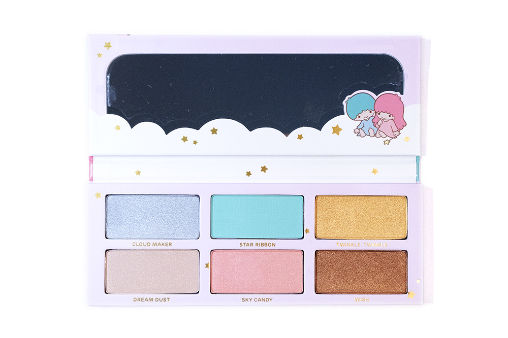 Sugarpill Little Twin Stars Eyeshadow Palette Beauty Review Black Swallow