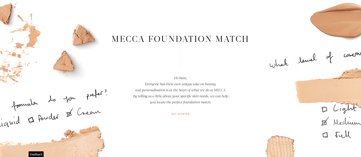 MECCA Foundation Match