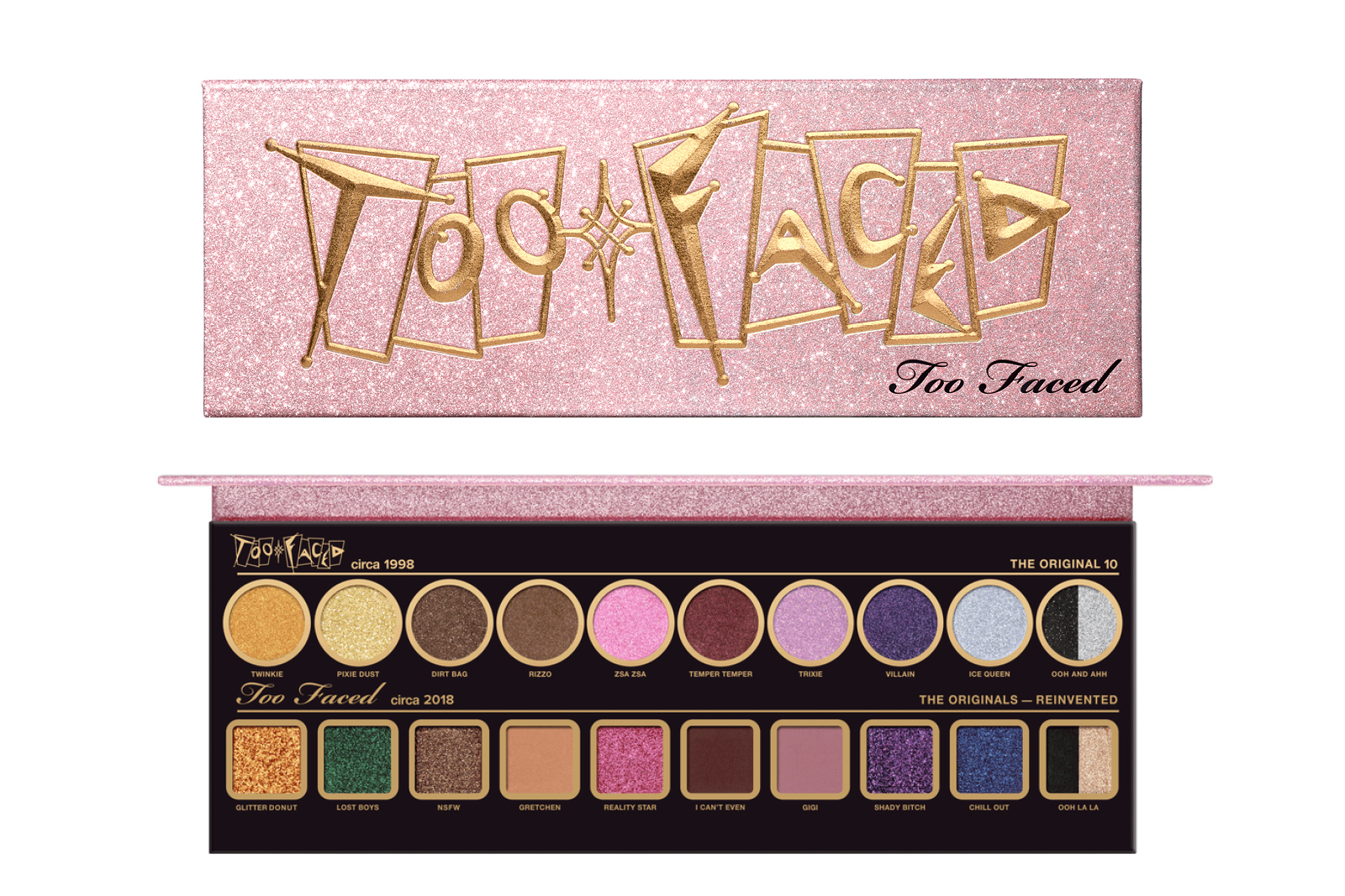 Too Faced 20th Anniversary Palette Mecca