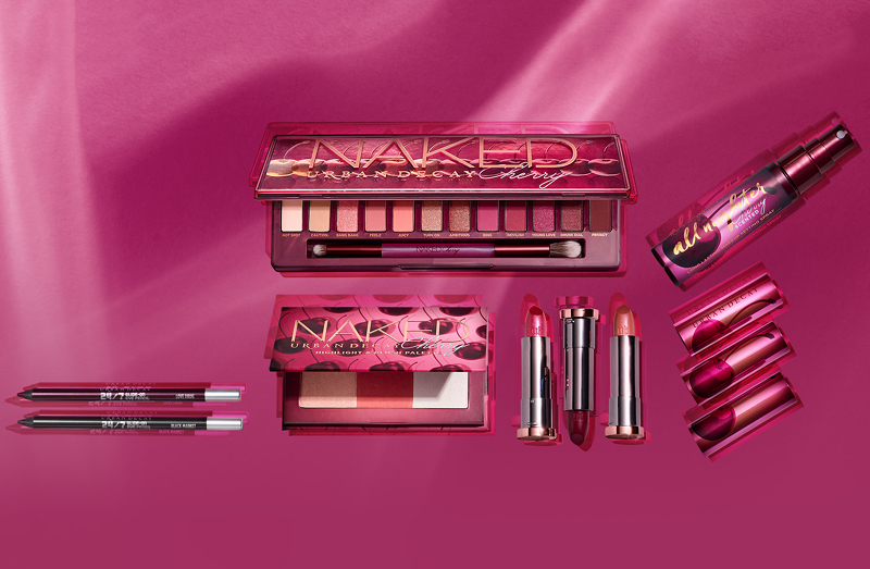 Urban Decay Naked Cherry Collection Review and Swatches