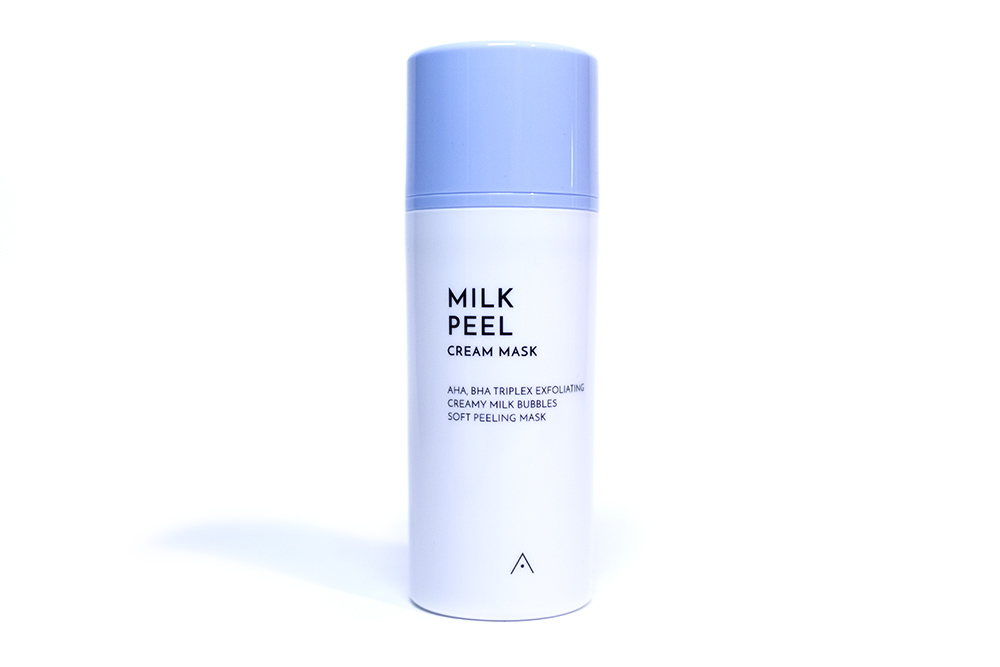 Althea Milk Peel Cream Mask Kbeauty Review