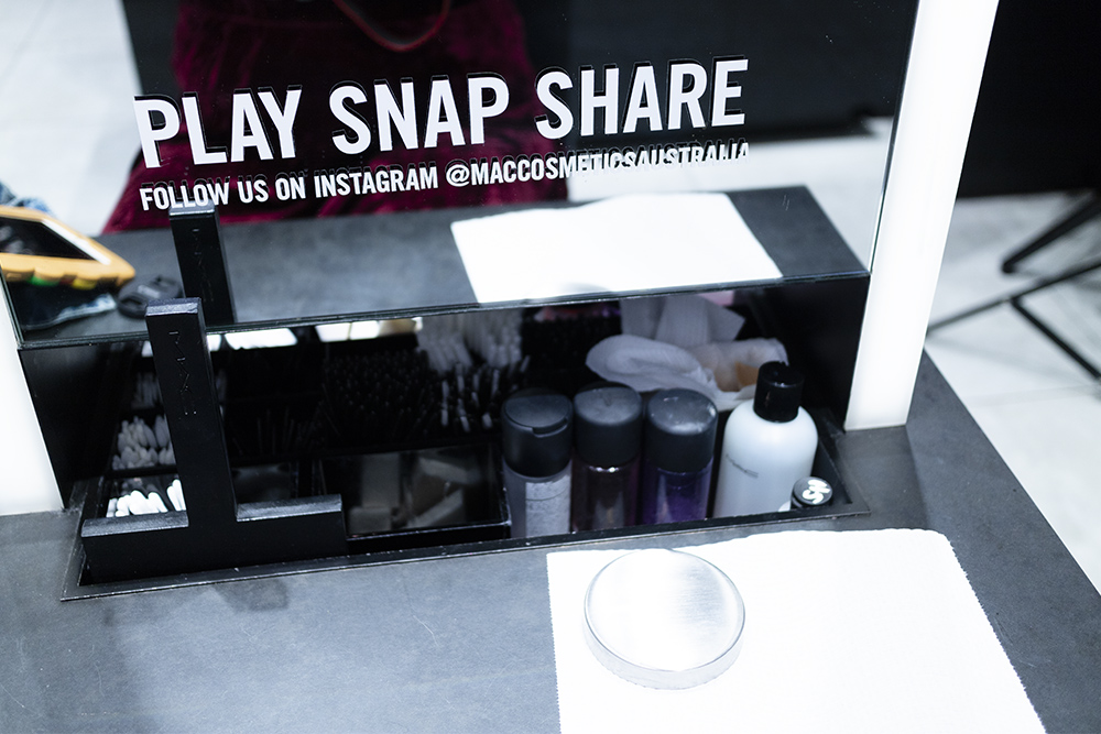 MAC Every Shade of You Studio Fix Fluid Promotion Event