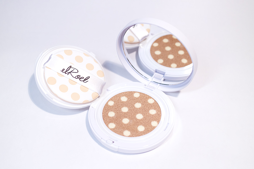 Elroel Blanc Pact and Dot Cushion Kbeauty Review StyleKorean