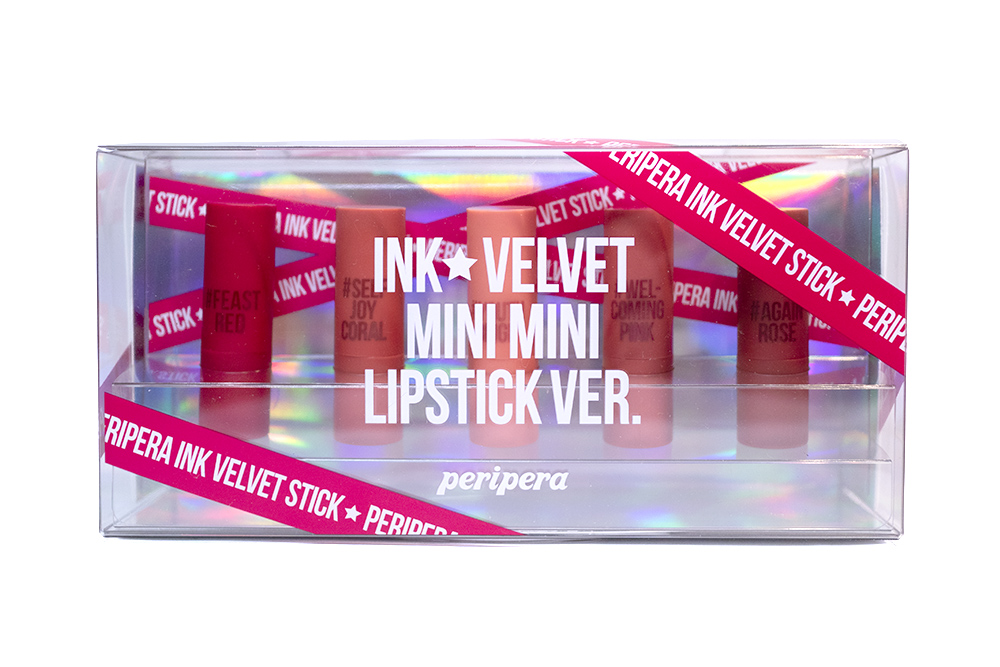 Peripera Ink Velvet Mini Mini Lipstick Set Kbeauty Review