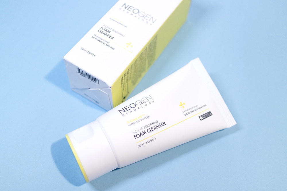Neogen Dermalogy A Clear Soothing Collection Review Kbeauty