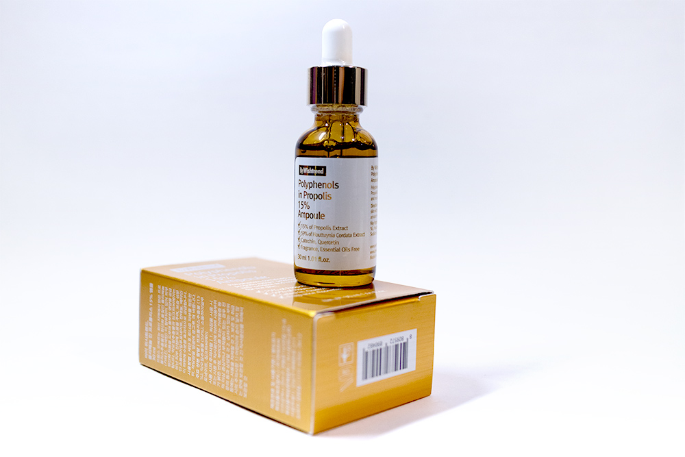 By Wishtrend Kbeauty Review Polyphenols in Propolis 10% Ampoule