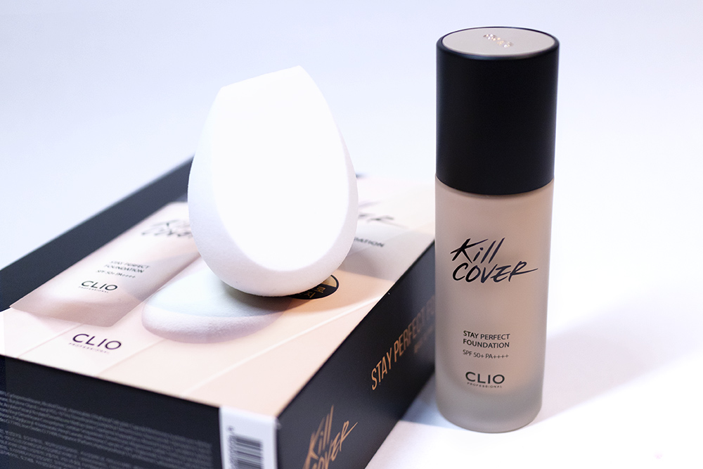 CLIO Kill Cover Stay Perfect Foundation Kbeauty Stylekorean Review