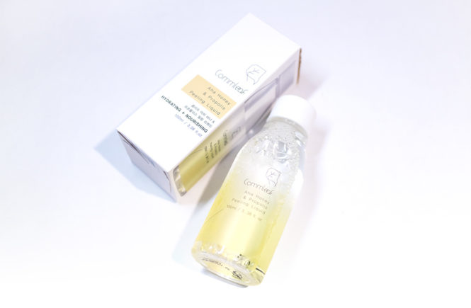 Style Story Kbeauty Review Commleaf AHA Honey & Propolis Peeling Liquid
