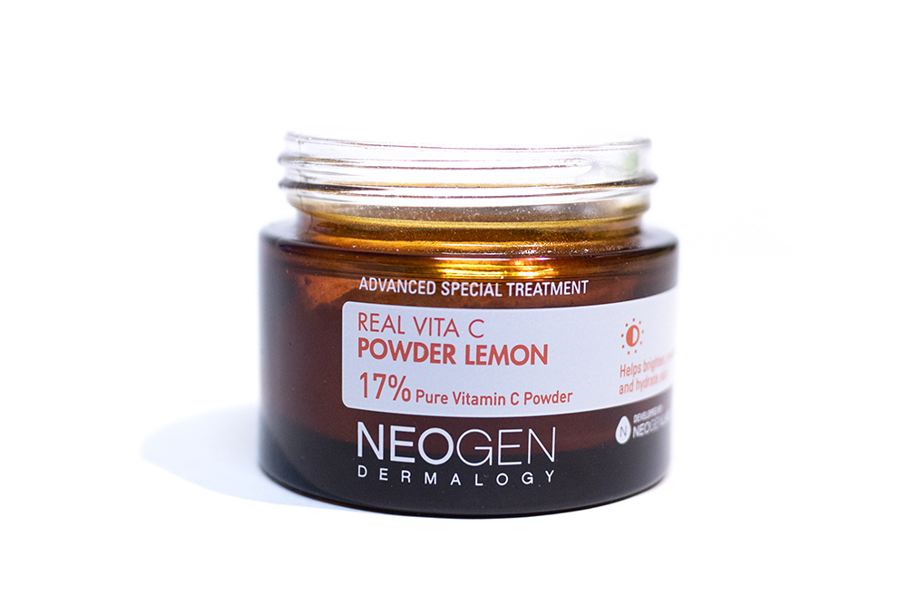 Neogen Real Vita C Powder Lemon and Serum Kbeauty Review Neogen