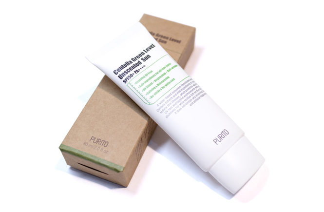 Purito Centella Green Level Unscented Sun Kbeauty Review