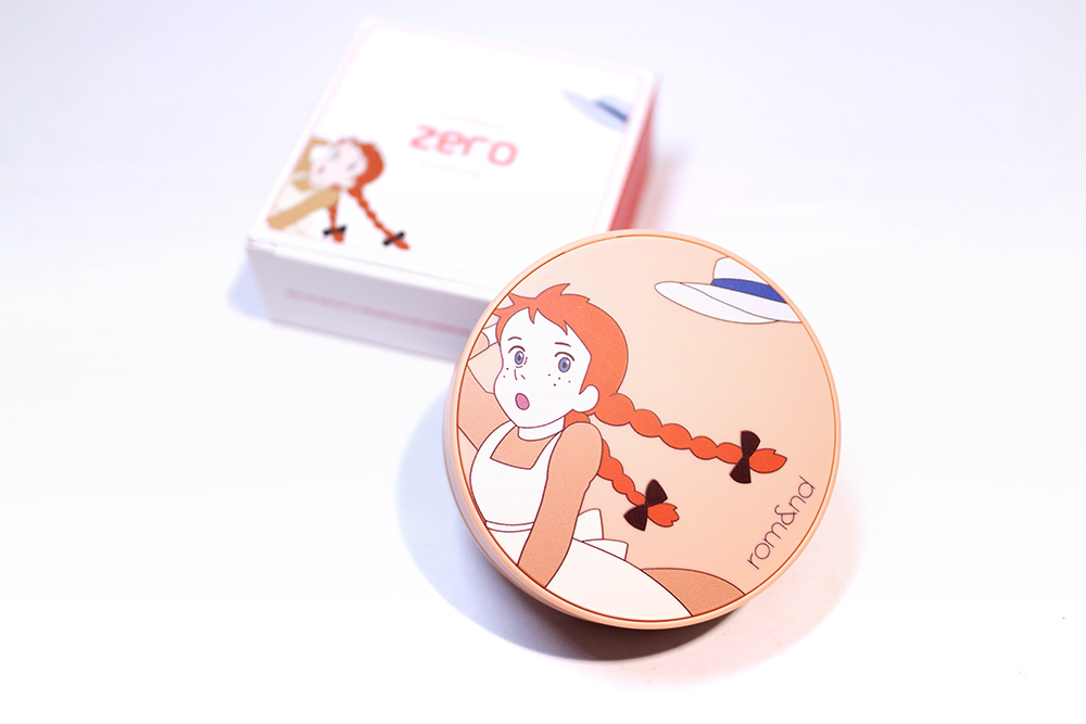 Rom&nd Romand Zero Cushion Kbeauty Review Anne of Green Gables Collection
