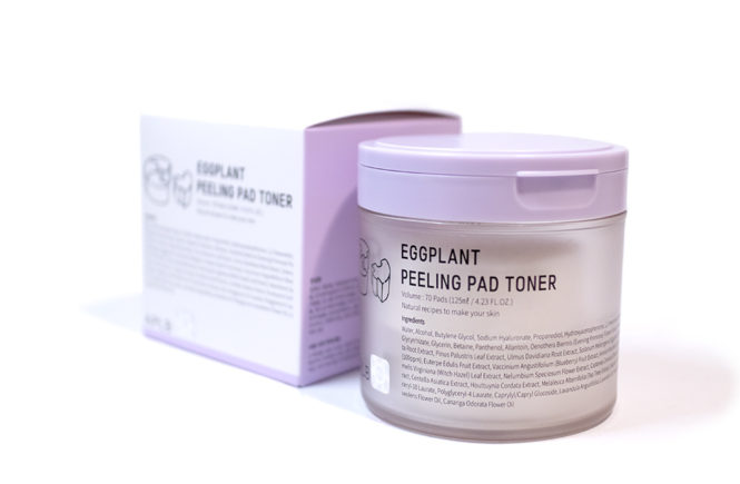 Style Story APLB Kbeauty Review Eggplant Peeling Pad Toner