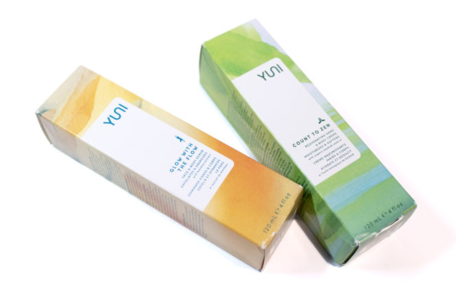 Yuni Beauty Glow with the Flow and Count to Zen Review