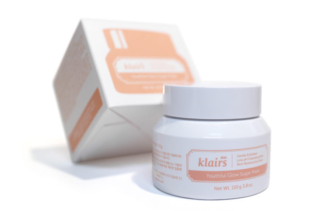 Klairs Youthful Glow Sugar Mask Kbeauty Review