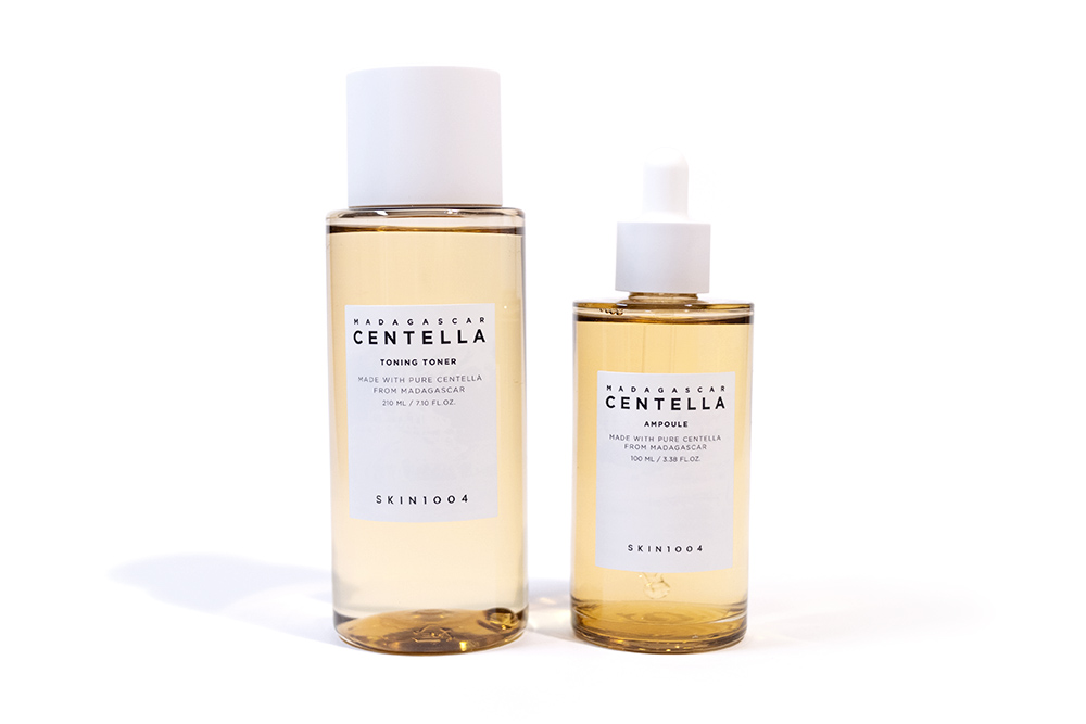 Skin1004 Madagascar Centella Toning Toner and Ampoule BB Cosmetic Kbeauty Review
